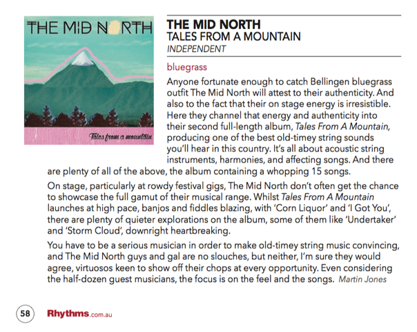 Rhythms Mag May:June 1025